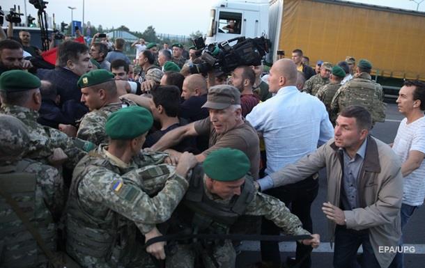 Прорыв Саакашвили: пограничникам приказали не использовать оружие