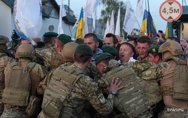 Прорив Саакашвілі: прикордонникам наказали не використовувати зброю