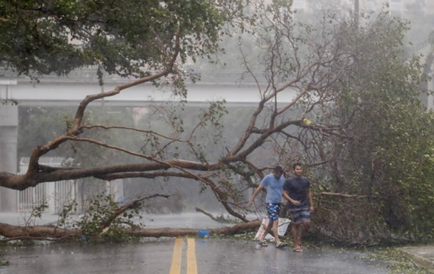 Ураган Ирма добрался до Майами