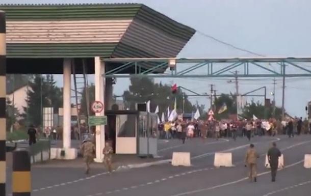 Появилось новое видео  прорыва Саакашвили