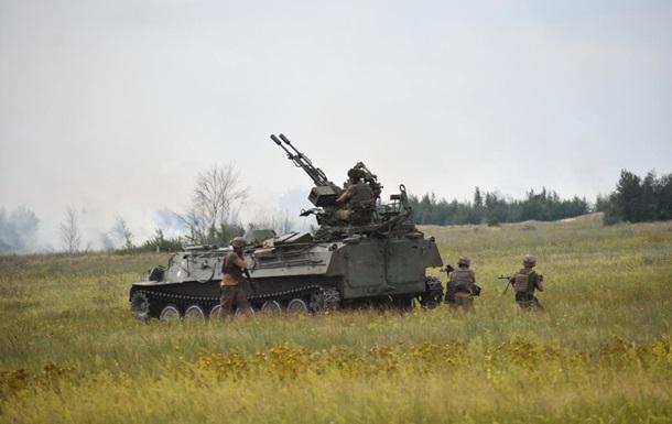 Біля Кримського поранені двоє військових - штаб