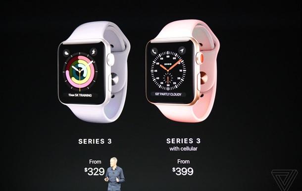 Apple представила Watch Series 3