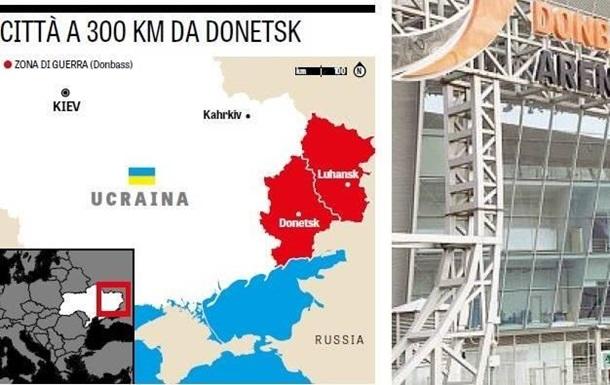 Спортгазета Италии сделала Крым  российским
