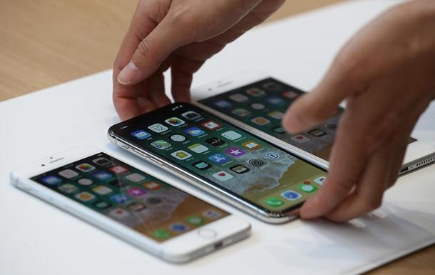 iPhone X, iPhone 8 и iPhone 8 Plus грн