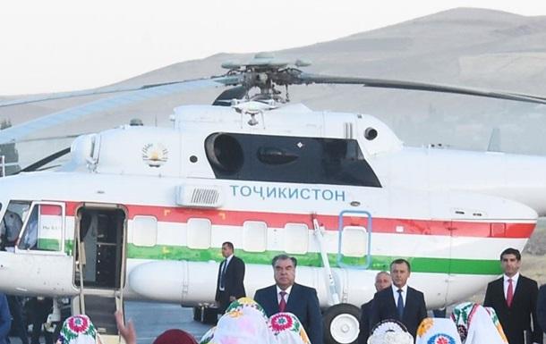 Вертоліт президента Таджикистану випадково вбив директора аеропорту