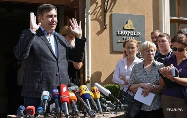 Саакашвили поддержал инициативу о роспуске Рады и законе об импичменте