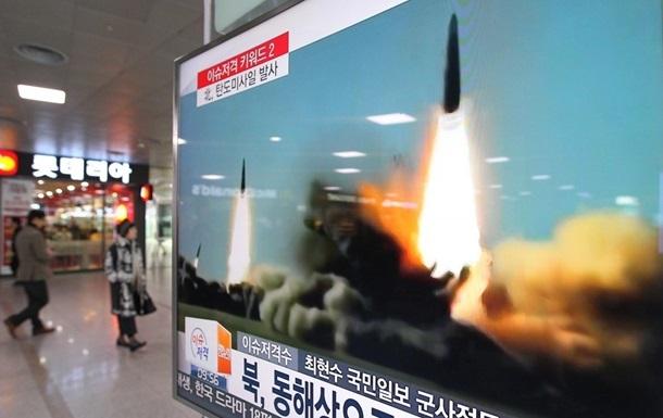 КНДР запустила ракету в бік Японії – ЗМІ