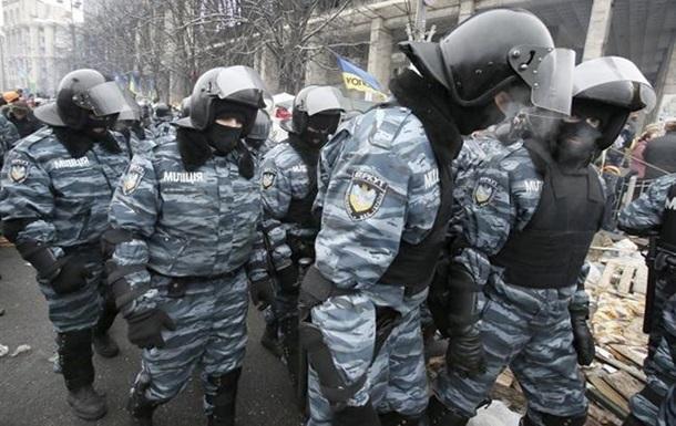 ГПУ: Зброї відділень МВС на Майдані не було