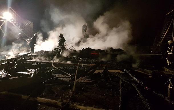 В детском лагере в Одессе произошел пожар
