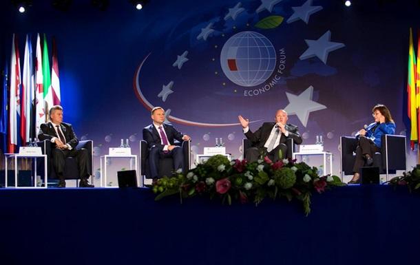 Украина – в центре внимания на форуме в Крынице-Здруй