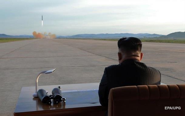 КНДР показала пуск ракеты, пролетевшей над Японией