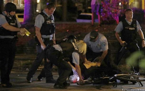 Беспорядки в США: ранены девять полицейских