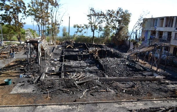 Підсумки 16.09: пожежа в таборі, вимоги Саакашвілі