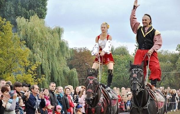 В Житомире устроили  Праздник украинского коня