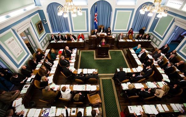 В Ісландії проведуть дострокові парламентські вибори