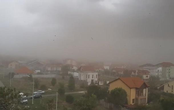 Ураган из Румынии идет в Украину