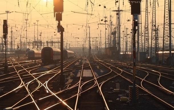 На Киевщине сгорел локомотив пассажирского поезда