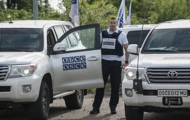 ОБСЕ зафиксировала 40 грузовиков вблизи Донецка
