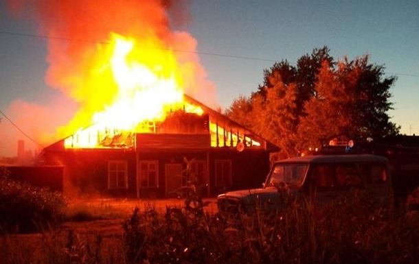 На Закарпатье горела база отдыха