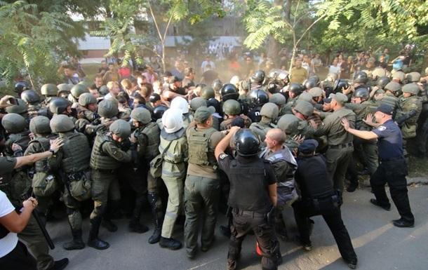 Сутички під судом у Чорноморську: 35 постраждалих