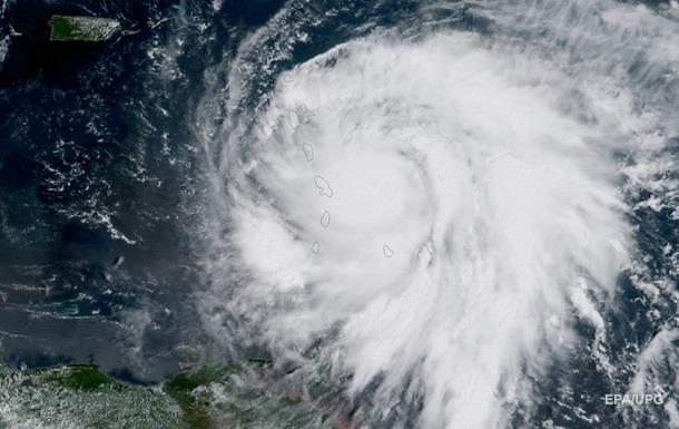 Ураган Мария достиг максимальной пятой категории