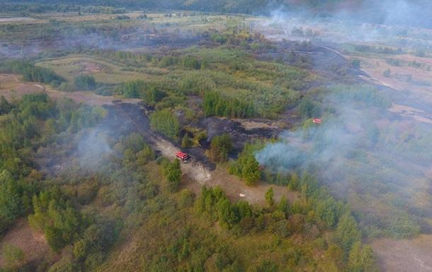 На Черкасщине ввели режим ЧС из-за горящего торфа