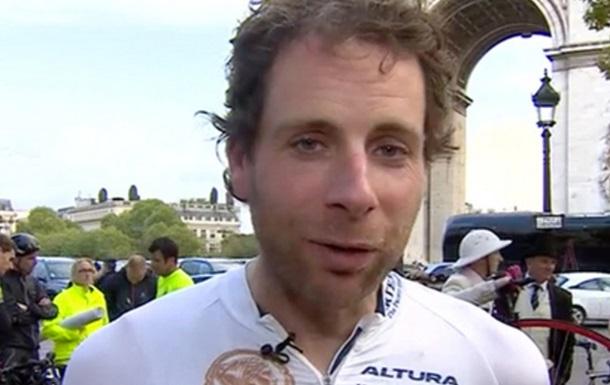 Велосипедист объехал вокруг света за 79 дней