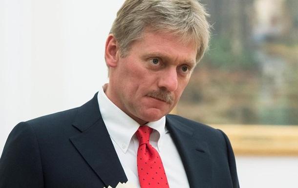 У Кремлі прокоментували поставки американської зброї в Україну