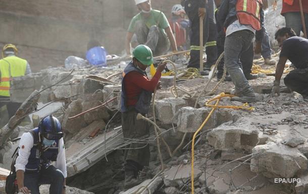 Землетрясение в Мексике: 21 ребенок погиб при обрушении школы