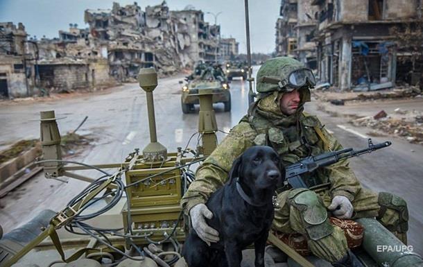 Три російських спецназівці поранені в Сирії