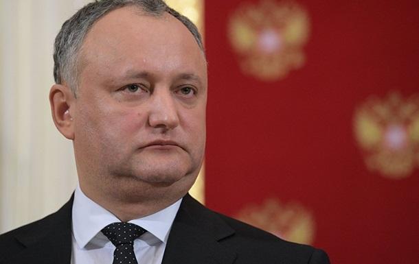 Парламент Молдови почав процедуру імпічменту Додона