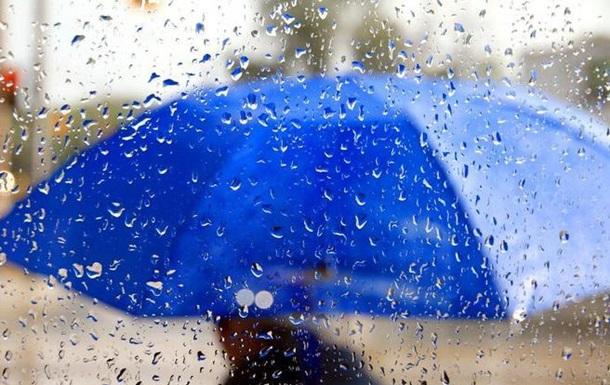 В Украину идут дожди с грозами