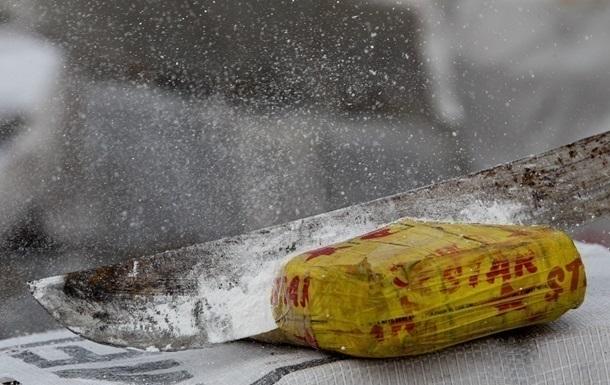 У Колумбії виявили семитонну партію кокаїну