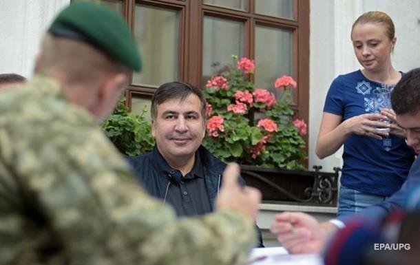 Итоги 22.09: Штраф Саакашвили и пожар на Донбассе