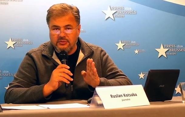 В Брюсселе украинские журналисты призвали к импичменту президента