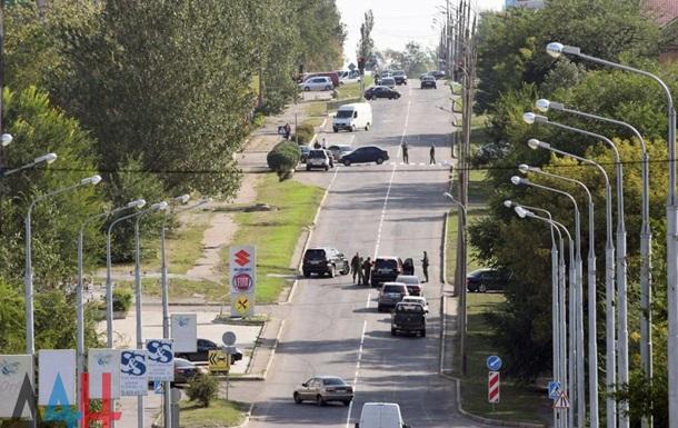 Покушение на  министра  в Донецке: Восемь раненых