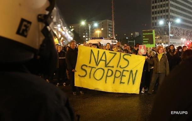 В Берлине проходит акция против партии правопопулистов