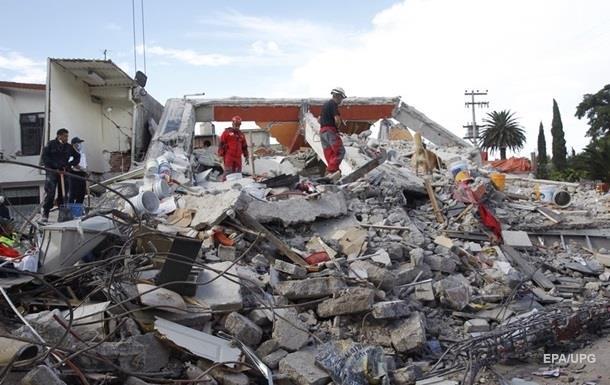 Кількість жертв землетрусу в Мексиці зросла до 320