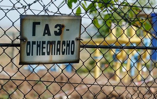 На Донбассе поселок остался без газа на трое суток