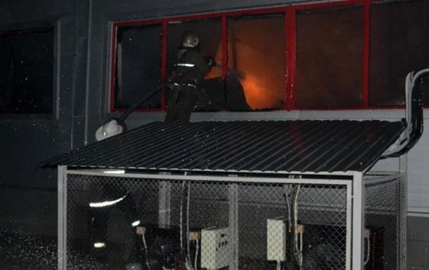 Пожежа на складах під Києвом локалізована