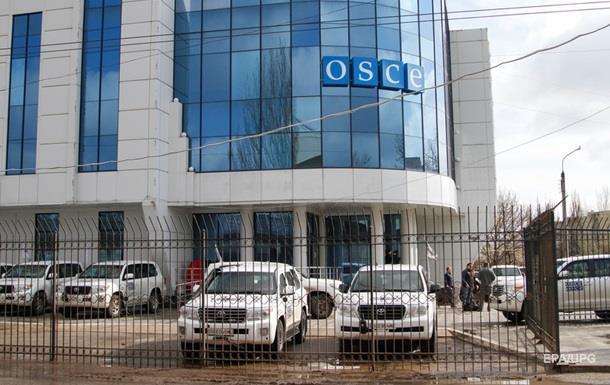 МИД: Россия сняла охрану с миссии ОБСЕ на Донбассе