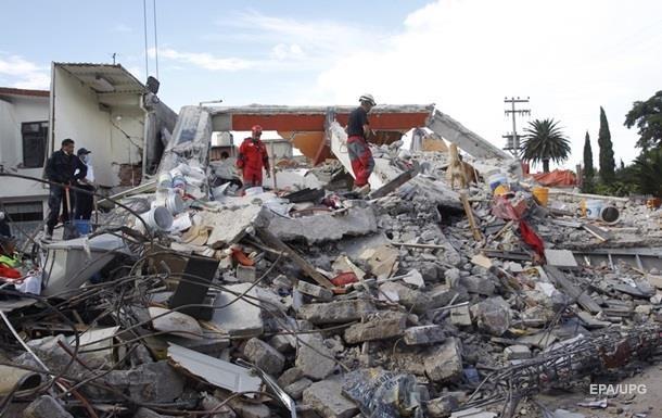 Землетрясение в Мексике: число жертв возросло до 331