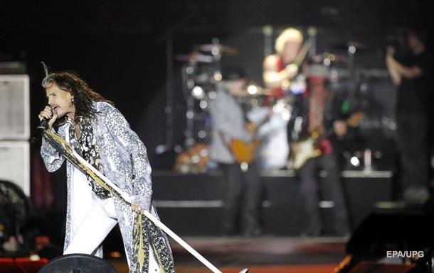 Aerosmith отменили концерты в Южной Америке