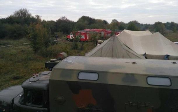 Винницкая ОГА: Взрывы на складах продолжаются