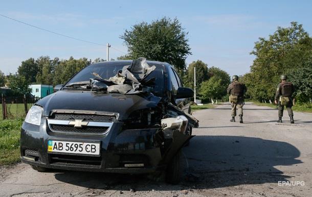 У МВС показали наслідки вибухів у Калинівці