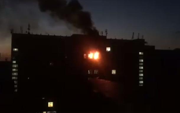 В Киеве горел Институт пищевых технологий