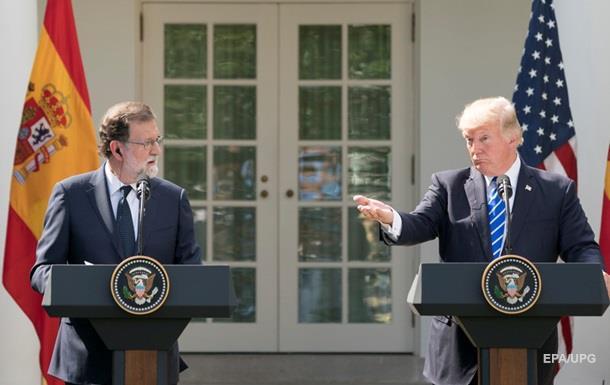 Трамп назвал премьера Испании президентом