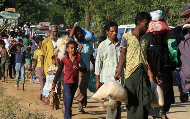 Генсек ООН: ще 250 тисяч рохінджа можуть стати вигнанцями