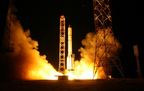 Росія успішно запустила в космос ракету Протон