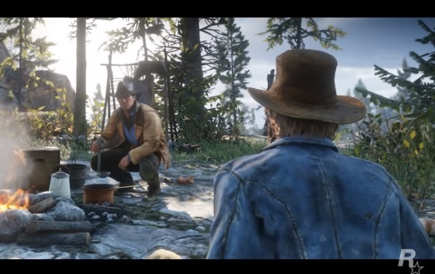 Red Dead Redemption 2: видео